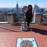 Flavia @ Top of the Rock
