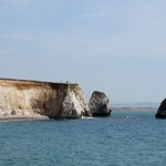 The Sandown white cliffs