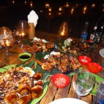 Dinner at Jimbaran South Warung