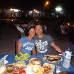 I last night dinner in Jimbaran