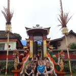 Balinese village ready for celebrations