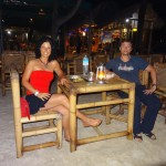 Romantic dinner over Indonesian Guns n' Roses tunes