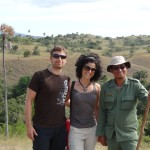 With our ranger at Rinca