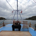 On the way to Komodo Island